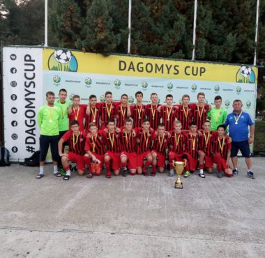 СШОР Енисей 2004 Чемпионы DAGOMYS CUP 2019
