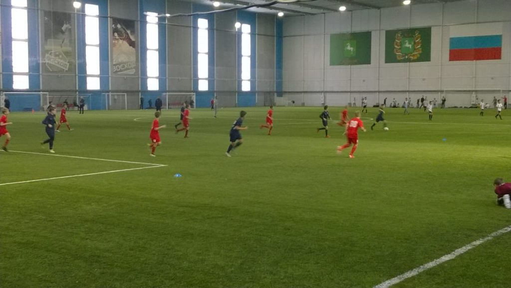 СШОР Енисей победитель открытого первенства МАУ ДО ДЮСШ №17 по футболу среди юношей 2008 г.р.
