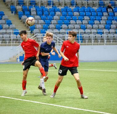 СШОР Енисей уходит в отрыв. В Красноярске прошел третий тур финала СФО по футболу среди юношей 2002 г.р.