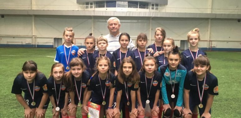 IMG 20200217 WA0000 773x380 - Команда девочек СШОР Енисей 2007/08 г.г.р. победитель турнира по футболу «Футбол в сердцах».
