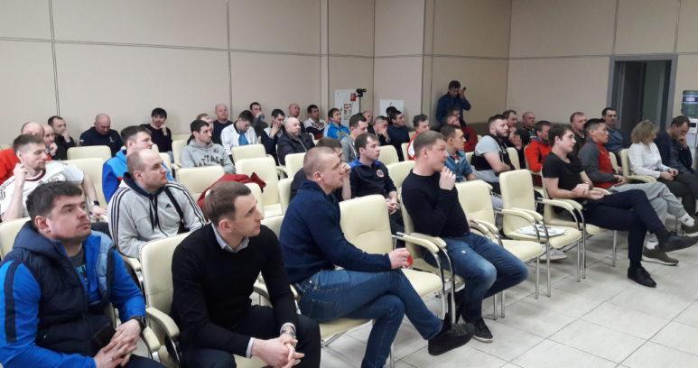 """20200313 123113 773x408 - КГАУ """"СШОР по футболу """"Енисей"""" впервые в своей истории провел семинар для тренеров."""