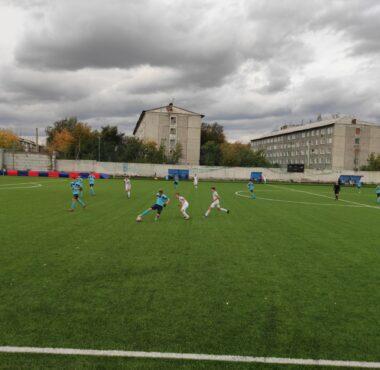Четвертый день первенства Красноярского края по футболу среди юношей 2004 г.р.