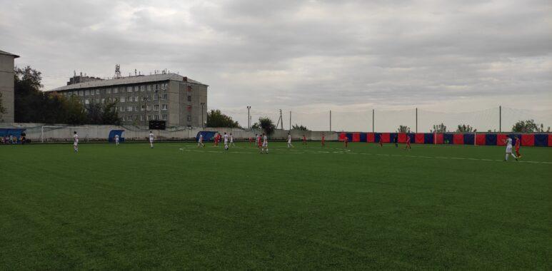 Второй день первенства Красноярского края по футболу среди юношей 2004 г.р.